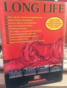 Long Life - C64 Magyar játék - Doboz hátoldal