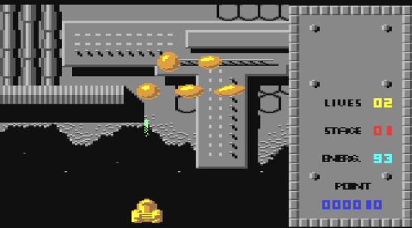 Space Knight c64 magyar játék
